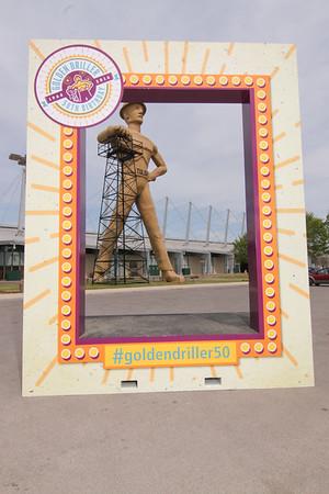Tulsa Expo Golden Driller 50th Birthday