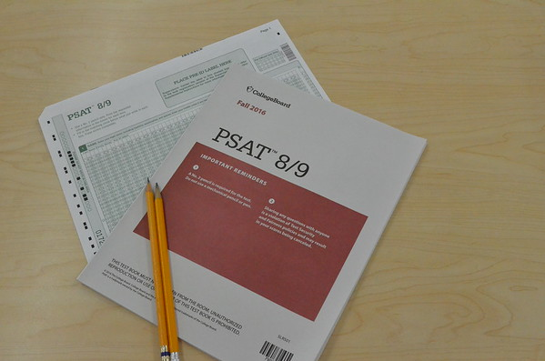 PSAT for 8th and 9th on Nov 16