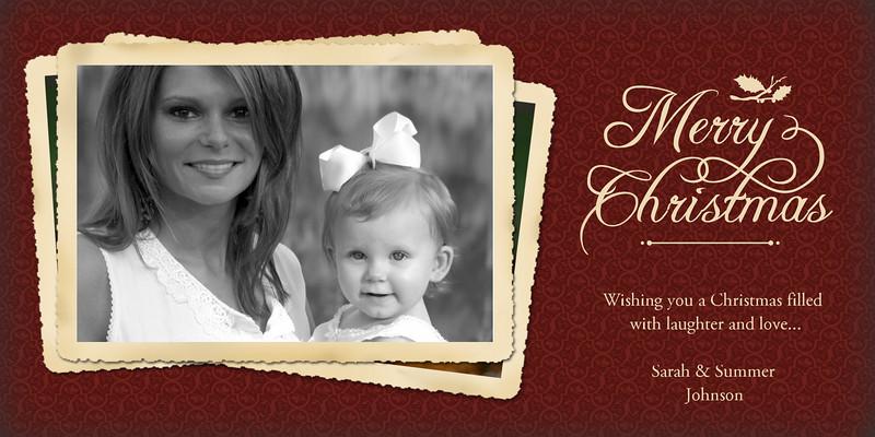 Christmas Card Samples