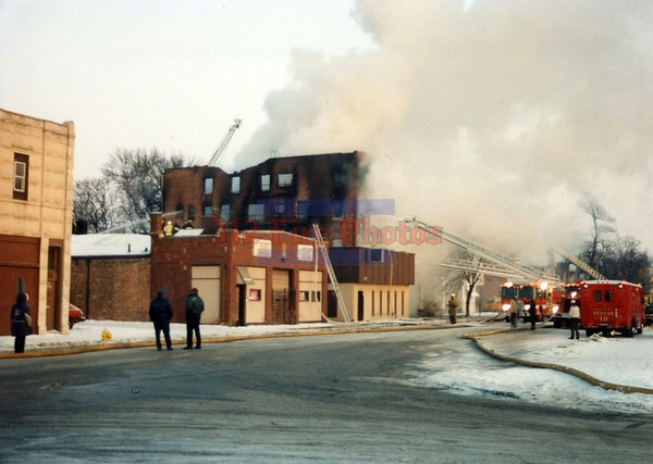 Harvey, Illinois 2nd Alarm 152nd St. & Broadway St. 2-13-1994