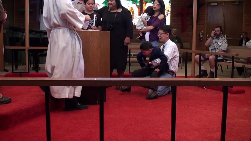 Jadon Baptism