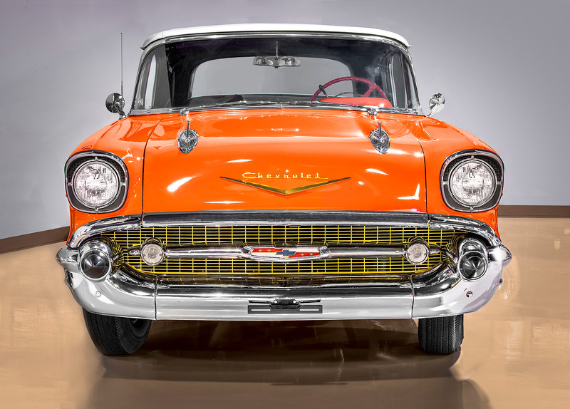 1957 Chevrolet Bel Air Convertible.