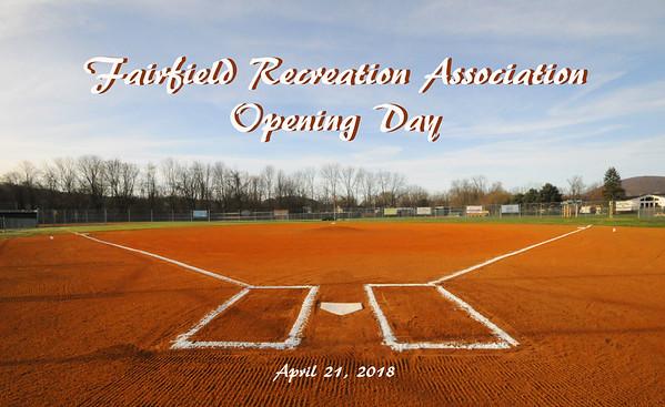 2018 Fairfield Baseball Opening