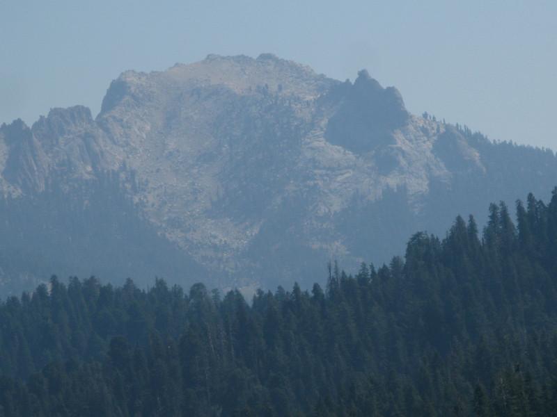 Alta Peak from Moro Rock
