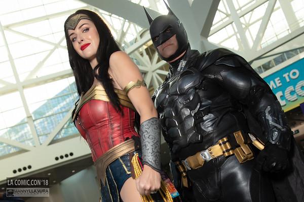 Batman and Wonder Woman