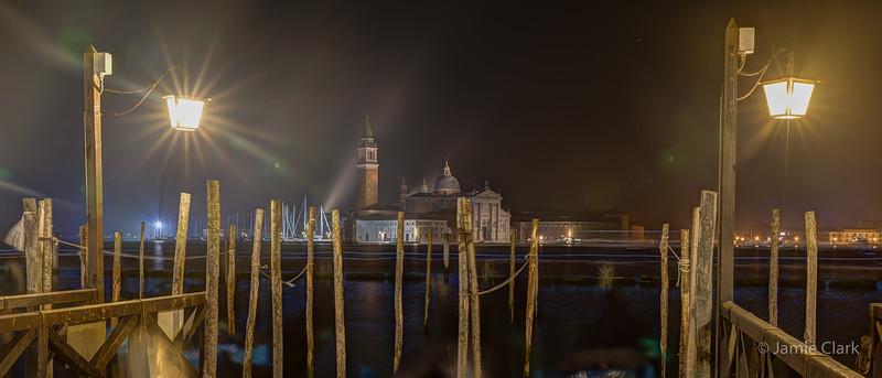 Church of San Giorgio Maggiore, Venice, Italy -  October 2017