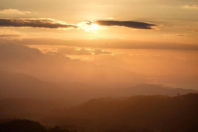Munduk sunset