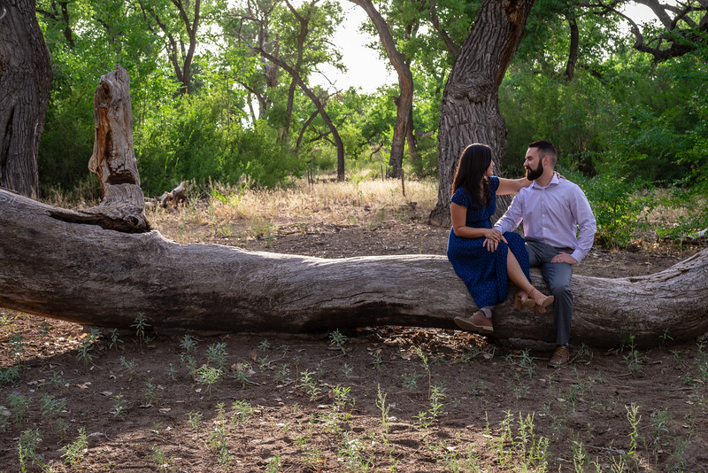 Summer Bosque Engagement Session Corrales New Mexico AJ & Gloria-7147.jpg