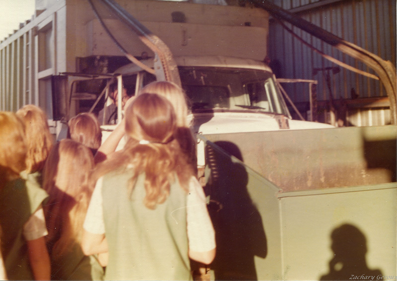 1960's International RIte-Way Mfg Rail Front Loader