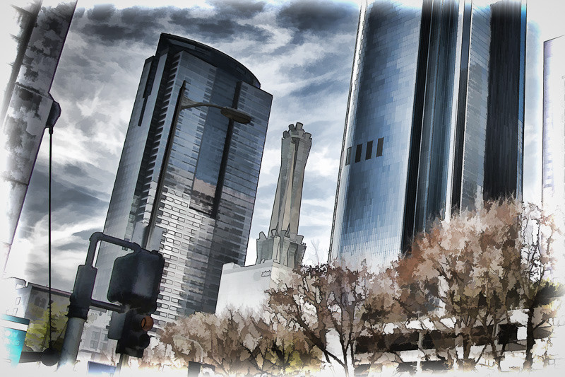 February 12 - Slanted cityscape_ downtown Los Angeles.jpg