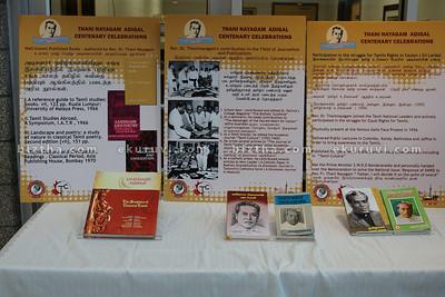 Prof Xavier S.Thaninayagam Centenary Celebration