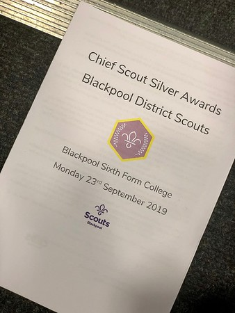 Chief Scout Silver Awards 2019