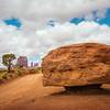 Rock at Monument Valley (Arizona)