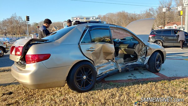 12/26/18 Miramar Way Motor Vehicle Accident with One Trapped