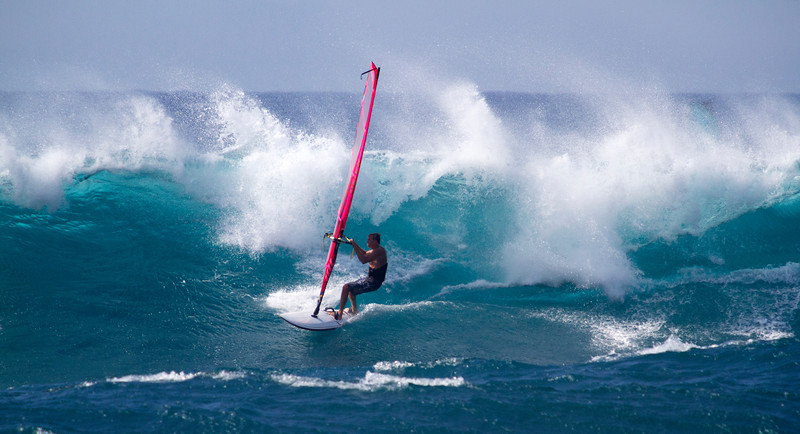 Windsurfing - Ho'okipa, Maui - May 2012