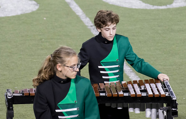 2016-10-19 West Cluster Marching Band Night