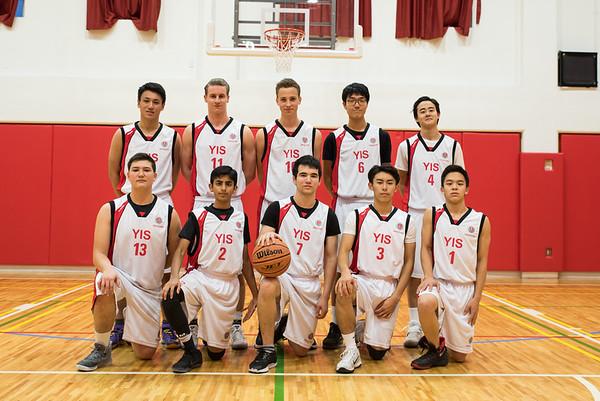 2016-17 Varsity Boys Basketball
