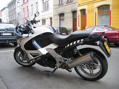 Testing the BMW K1200 RS