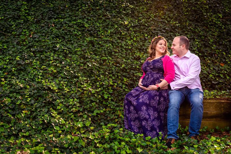 Tanner & Joe's Maternity Session - Longwood Gardens