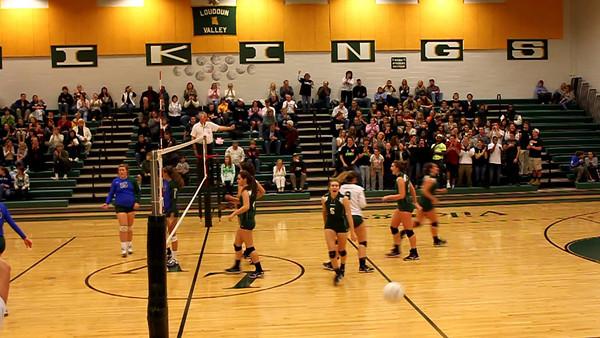 Volleyball: Loudoun Valley vs. Forest Park - Northwest Region Semifinal