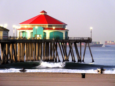 10/13/21 * DAILY SURFING PHOTOS * H.B. PIER