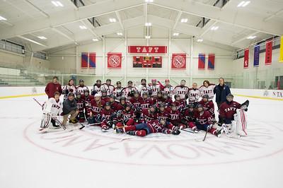 2/17/17: Girls' Thirds Hockey v Female Faculty