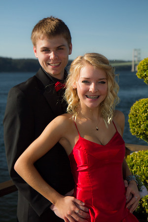 Sydney Russell & Jake's Prom 2013