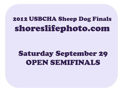 OPEN Semifinals Saturday Sept 29th