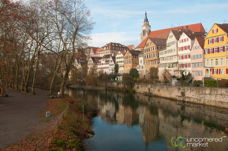 Colorful Houses in Tübingen - Baden-Württemberg, Germany