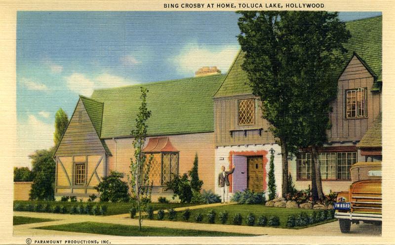 Bing Crosby at Home