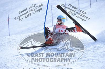Whistler Cup 2012 - K1 Girls Slalom