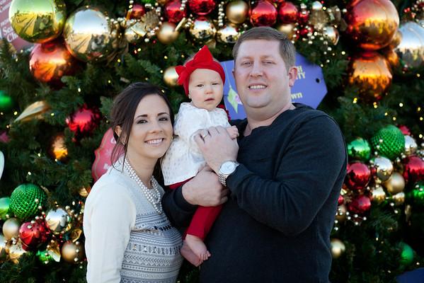 Chris & Sarah Cosman's Christmas Portrait Session 11.29.15