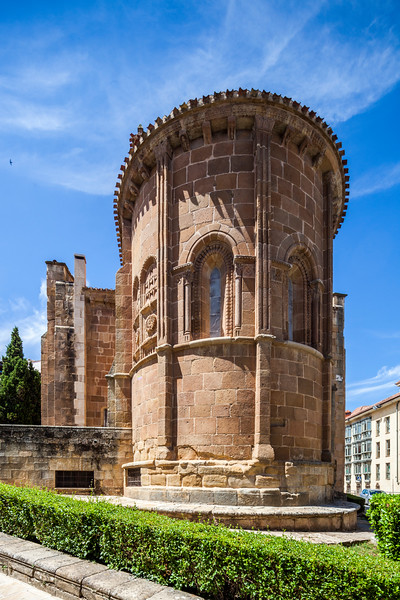 Apse of the Church of San Juan de la Rabanera (12th century), Soria, Spain