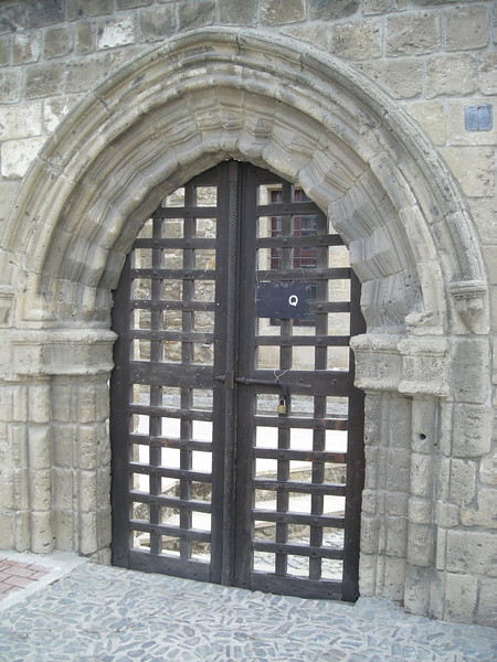 Church gate entry, Nicosia