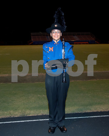 Marshall County High School 2009 Marching Marshals  -  September 12, 2009.