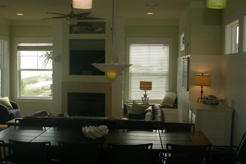 2nd floor- dining room & LR