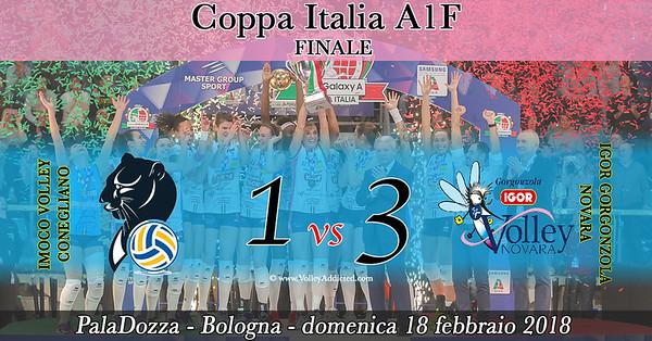Finale A1F: Imoco Volley Conegliano - Igor Gorgonzola Novara