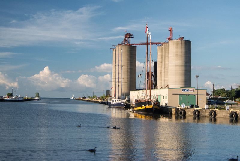 Port Stanley cargo used to be coal and wood, but is now dormant