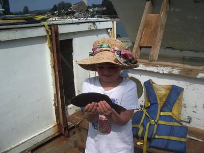 Haley Fishing, Sept 11, 2011