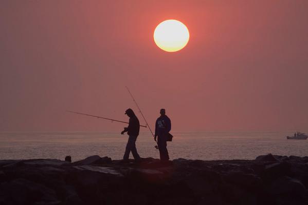 Sunrise at Avon Beach