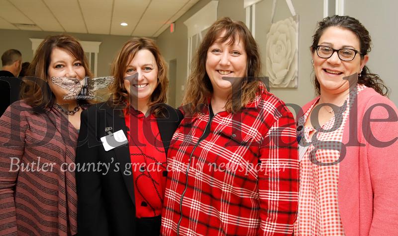 Heather Brown, Heidi Coyle, Susan Nickle, and Rhonda Coroian with Sunnyview Nursing Center