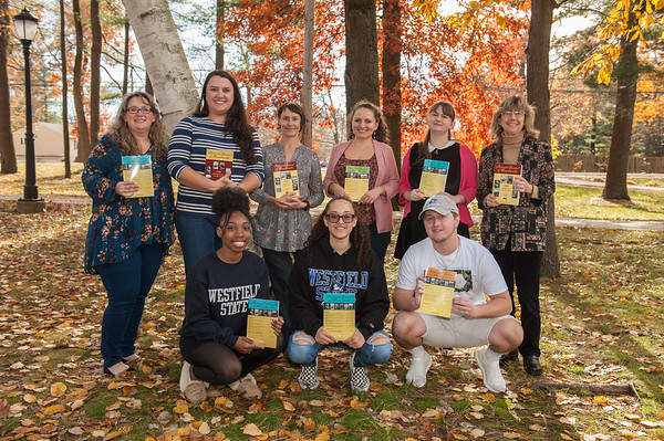 Mass. Historical Journal staff & interns, Nov 2018