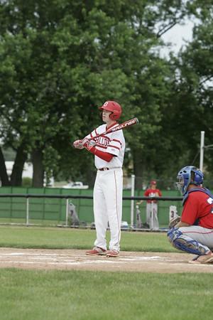 OHS Varsity Baseball Game Action 06182015