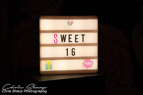 Ashianna's Sweet 16
