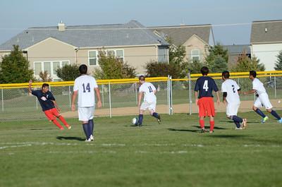 JV soccer Vs. So. Elgin 2013