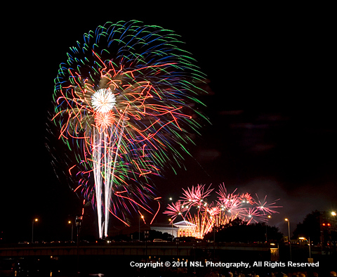 Philadelphia Museum of Art, July 4th Fireworks by NSL Photography, www.nslphotography.com