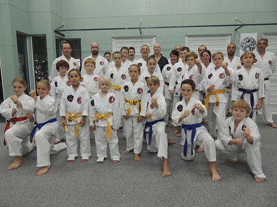 Combat Karate Kata Course May 2014