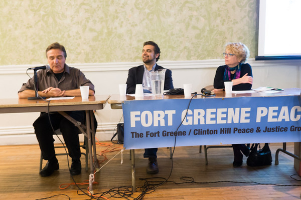 Fort Greene Forum Examines ISIS, Syria, Iraq & US War.
