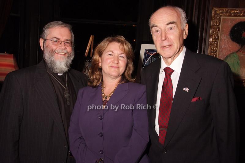Father John Sheehan, Jamie Fox, Donald Briggs