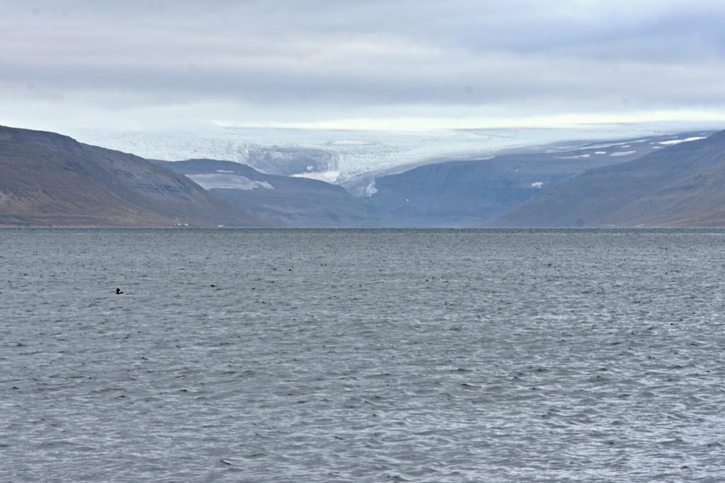 Drangajökull glacier in West Fjords Iceland